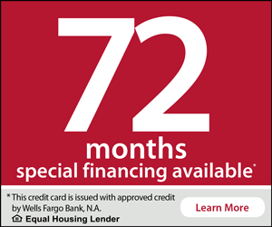 Wells Fargo 72 Months Financing Learn More