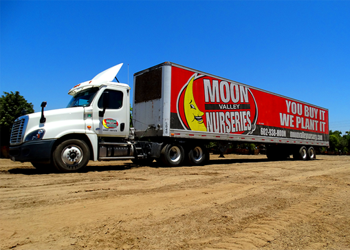 Moon Valley Nurseries Truck