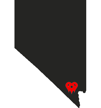Nevada State Map Pins